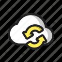 cloud, refresh, sync