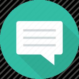 chat, comment, comments, conversation, talk, talking icon
