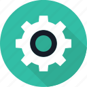 device, gear, going, options, rotate, settings icon