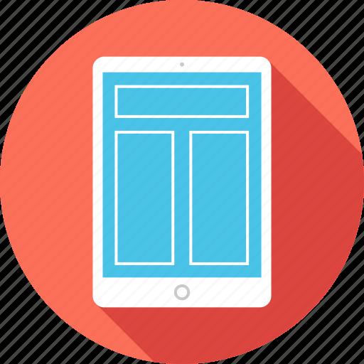 design, ipad, mockup, online, responsive, website icon