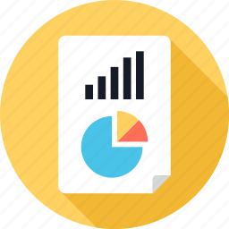 chart, graph, pie, report, reporting, up icon