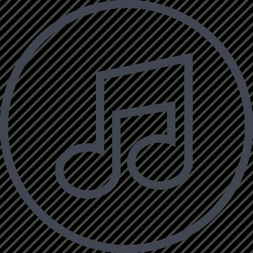 beat, compose, listen, music, note, sound icon