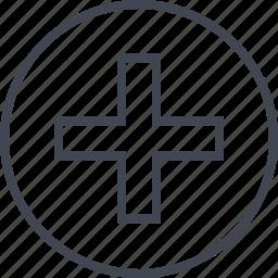 add, additional, cross, plus icon