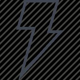 fastspeed, light, lightning, power icon