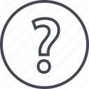 ask, asking, mark, question icon