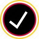 approved, safe, secure icon