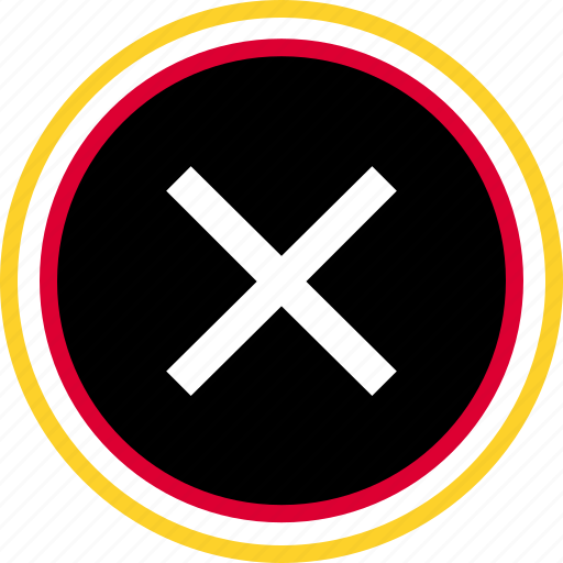 denied, navigation, stop icon