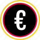currency, euro, online icon