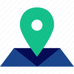 direction, gps, location, map, pin icon