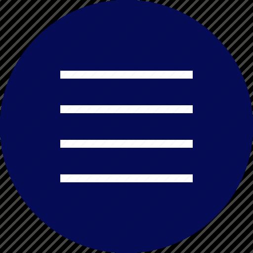 menu, nav, navigation, options, setup icon