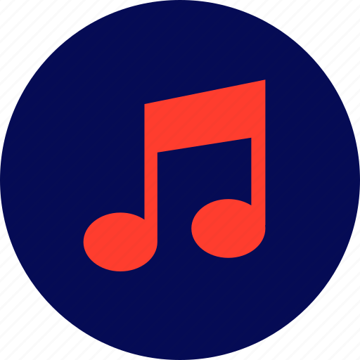 audio, music, note, play, sound, youtube icon
