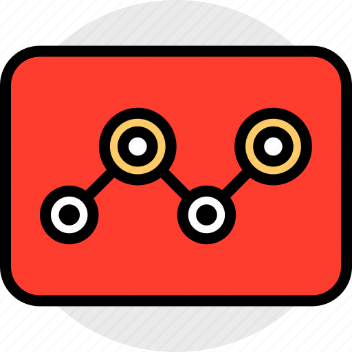 analytics, everyday, online, options, random, tube icon