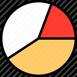 chart, everyday, online, options, pie, random icon