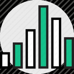 data, everyday, online, options, random, up icon