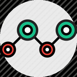 analytics, analyze, everyday, online, options, random icon