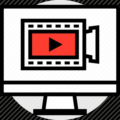 everyday, monitor, online, options, random, record icon