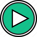 everyday, now, online, options, play, random icon