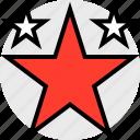 everyday, online, options, random, star, three icon