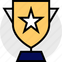 everyday, online, options, random, star, trophy icon