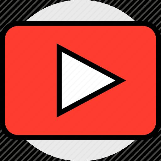 everyday, online, options, random, tube, video icon