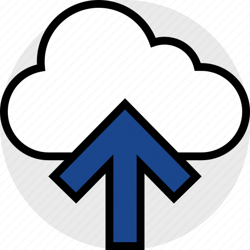 cloud, everyday, online, options, random, up icon