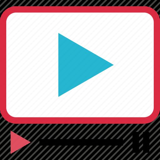 play, tube, video, youtube icon