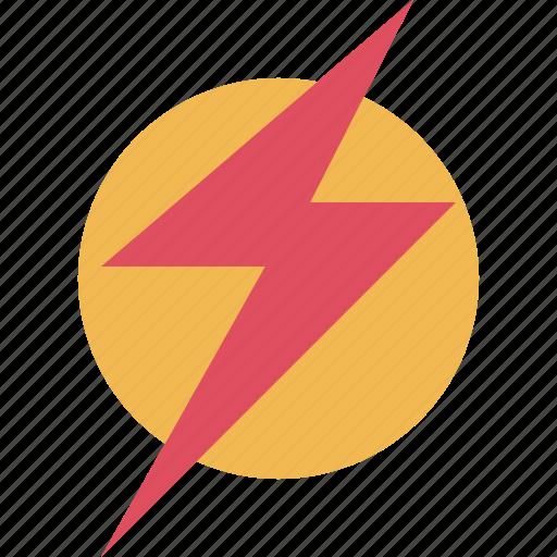 bulb, light, lightning, online, power icon