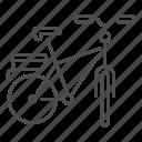 bicycle, bike, cargo bike, cycling, transport