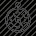 arrow, compass, direction, nautical, navigation, pirate icon