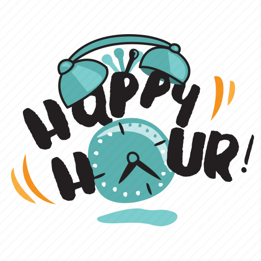 bar, drink, happy hour, network, restaurant, social, time icon