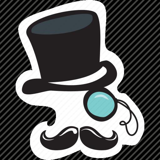 Avatar, gentleman, hipster, mister, mr., network, social icon - Download on Iconfinder