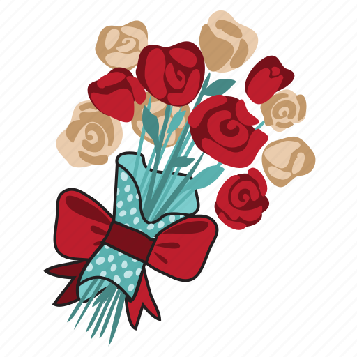 Bouquet, congratulation, date, flower, love, network, social icon - Download on Iconfinder
