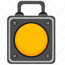 builder, lantern, portable, road icon
