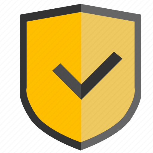 accept, complete, ok, safety, security, shield icon