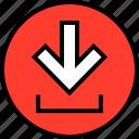 down, everyday, online, options, random icon