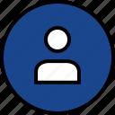 everyday, online, options, random, single, user icon