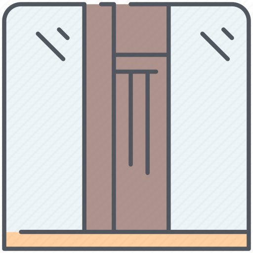 bedroom, builtin, clothing, design, furniture, interior, wardrobe icon