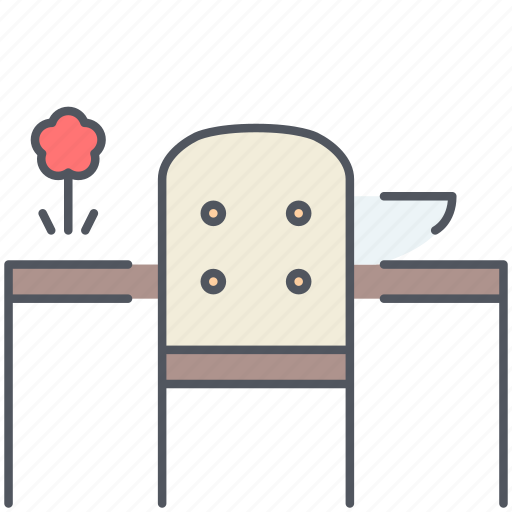 chair, design, dining, dining room, furniture, interior, table icon