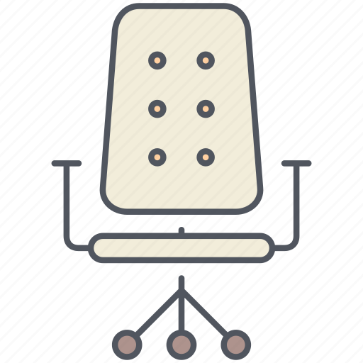 chair, design, furniture, interior, office, seat, work icon