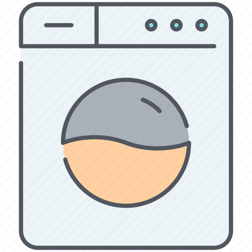 appliance, cleaning, equipment, home, machine, utility, washing icon