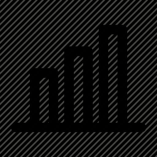 analytics, annual report, bar graph, chart, data, graph, statistics icon