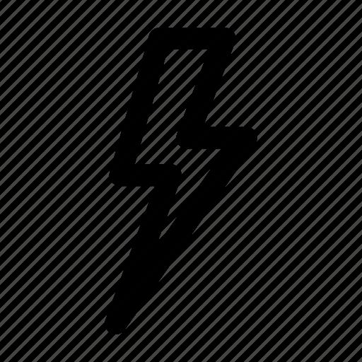 Bolt, electricity, energy, flash, lightning, lightning bolt, storm icon - Download on Iconfinder