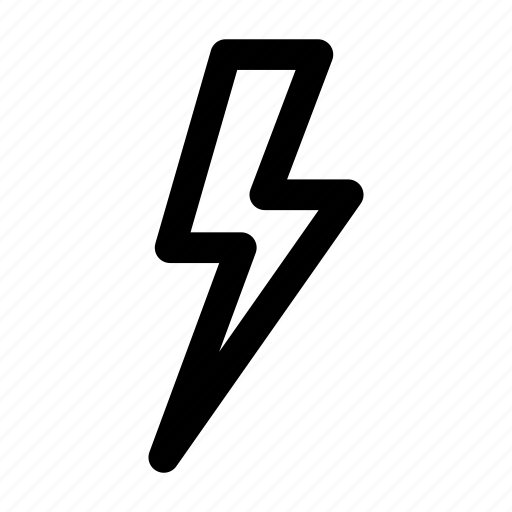 bolt, electricity, energy, flash, lightning, lightning bolt, storm icon