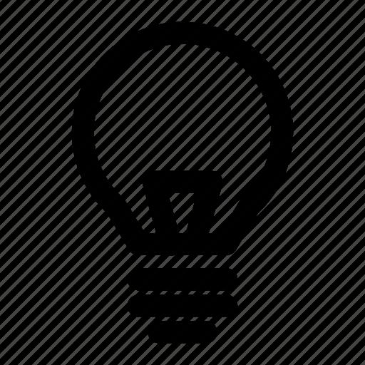 brightness, bulb, electricity, energy, ideas, light, lightbulb icon