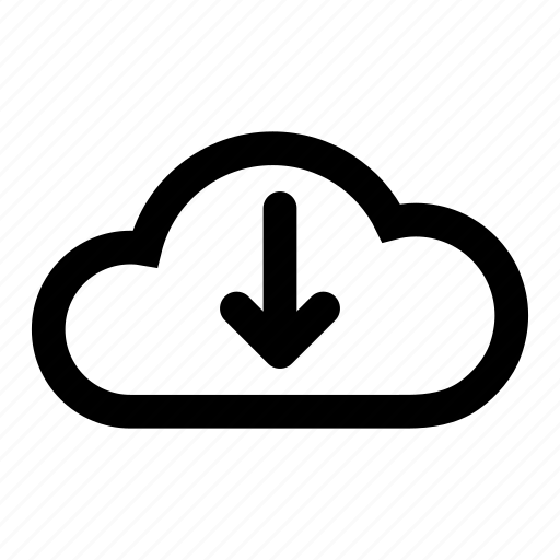 cloud, cloud server, computer, download, icloud, server, technology icon