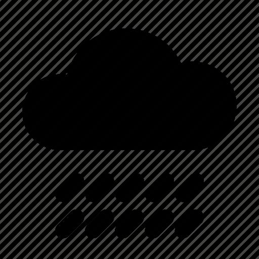 cloud, common, raincloud, raining, rainy weather, storm, weather icon