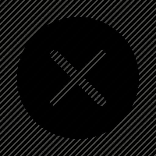 cancel, common, delete, error, remove, unsuccessful, warning icon
