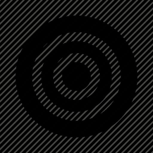 bullseye, circles, common, drag, focus, target, targets icon