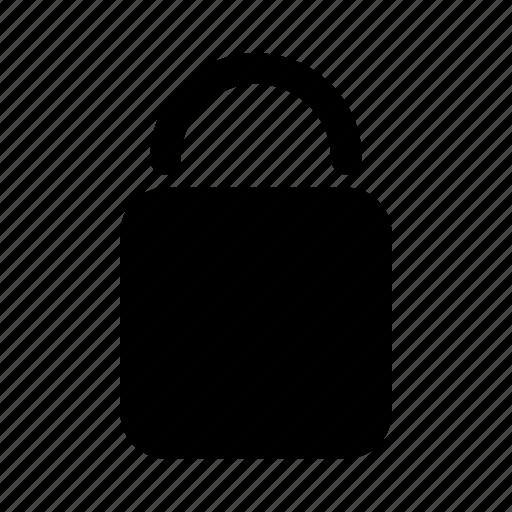 common, lock, locked, padlock, password, secure, security icon