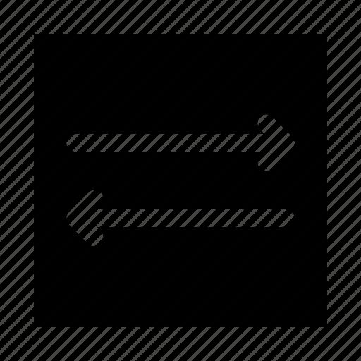 arrows, common, file transfer, left, left right, right, transfer icon